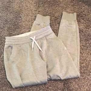 Adidas gray joggers